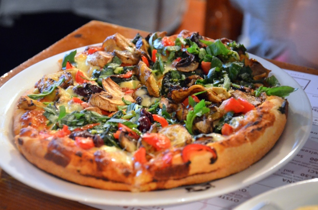 Ortolana - artichoke, spinach, tomato, mushrooms, onion